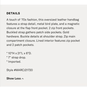 Marc By Marc Jacobs Bags - Marc by Marc Jacobs Evie Hobo